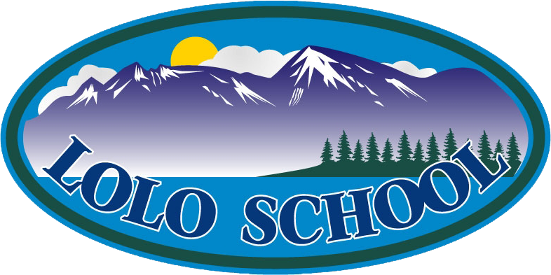 Lolo school district's logo