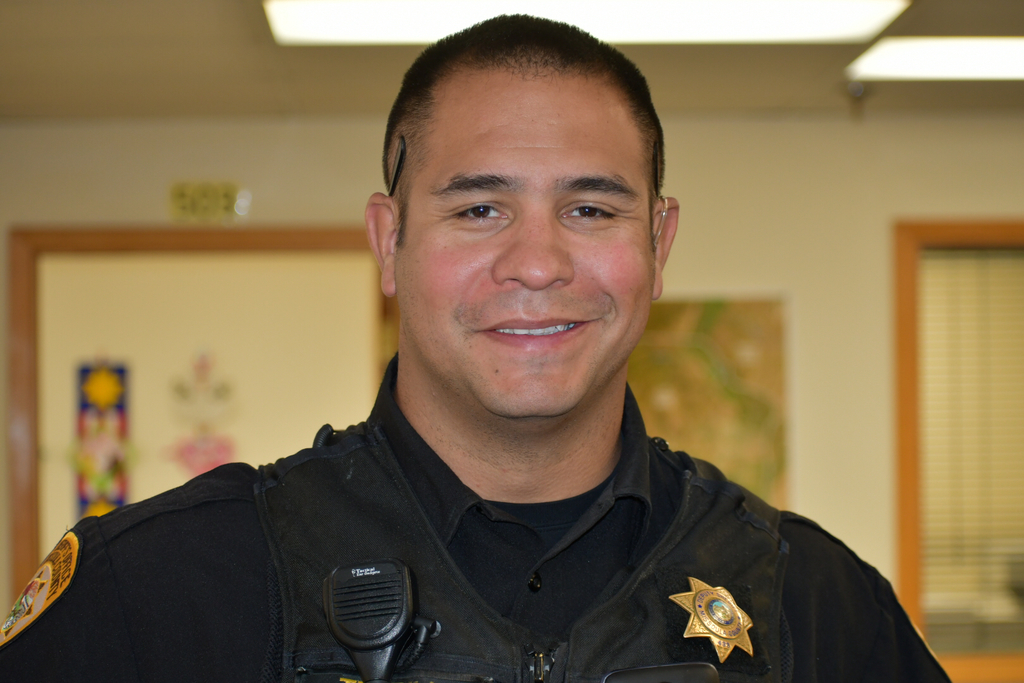 Deputy Terrill, School Resource Officer at Lolo School