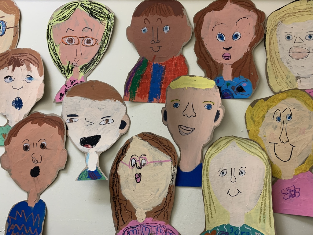 Kindergarten self portraits