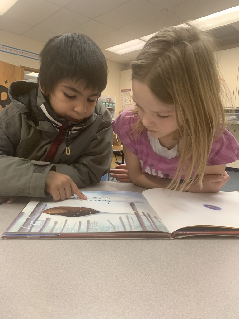 2nd graders read together